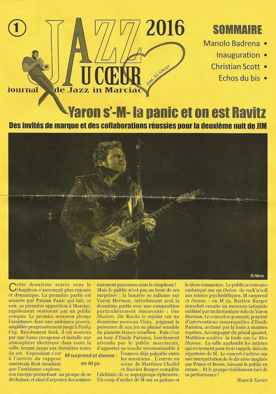 Panam Panic au festival Jazz à Marciac